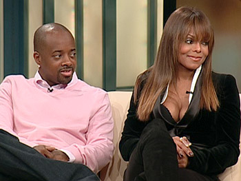 Jermaine Dupri and Janet