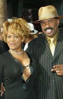 STEVE HARVEY'S EX SAYS STEVE CONNED HER