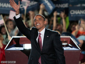 Barack Obama Accepts Nomination