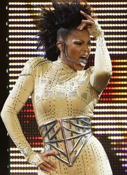 Janet On Stage