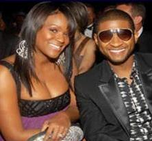 Tameka and Usher in Happier Days
