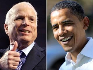 Mcain Trails Obama