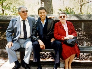 Obama With Grandparents