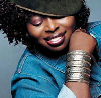 Angie Stone Helps The Elderly