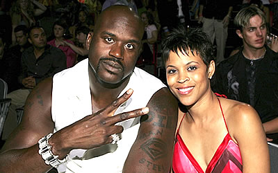 Shaq and Wife